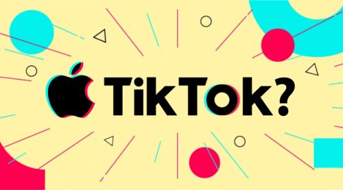 هل تشتري ابل تطبيق تيك توك؟