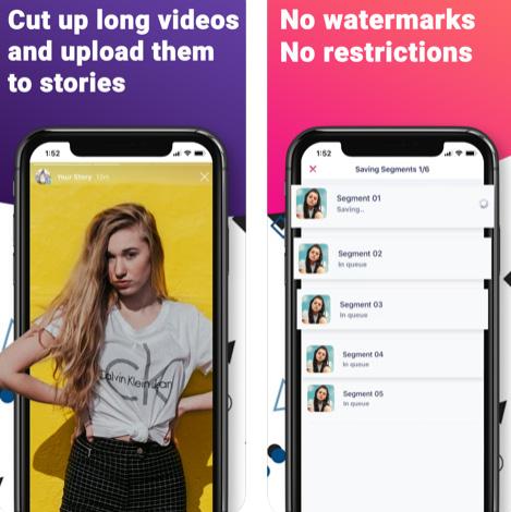 تطبيق IG Story Editor لإنشاء قصص إنستاغرام