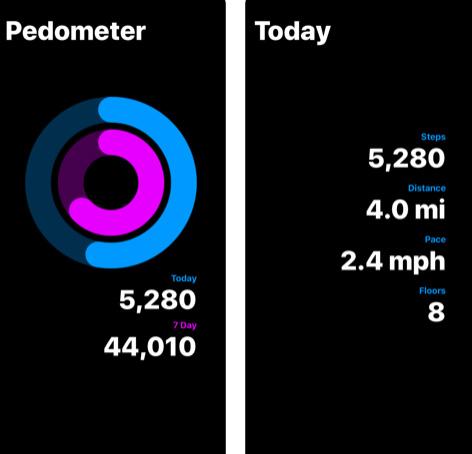 تطبيق Pedometer Plus عداد الخطوات