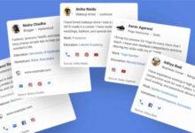 Photo of ميزة People Cards الجديدة من جوجل ستتيح لك إضافة معلوماتك في محرّك البحث بنفسك