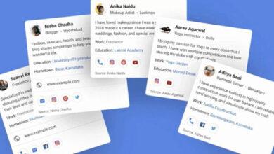 ميزة People Cards الجديدة من جوجل ستتيح لك إضافة معلوماتك في محرّك البحث بنفسك