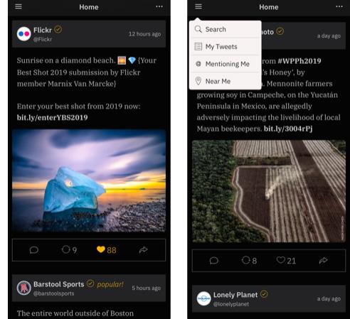 تطبيق Simple T - تطبيق مميز من أجل تويتر