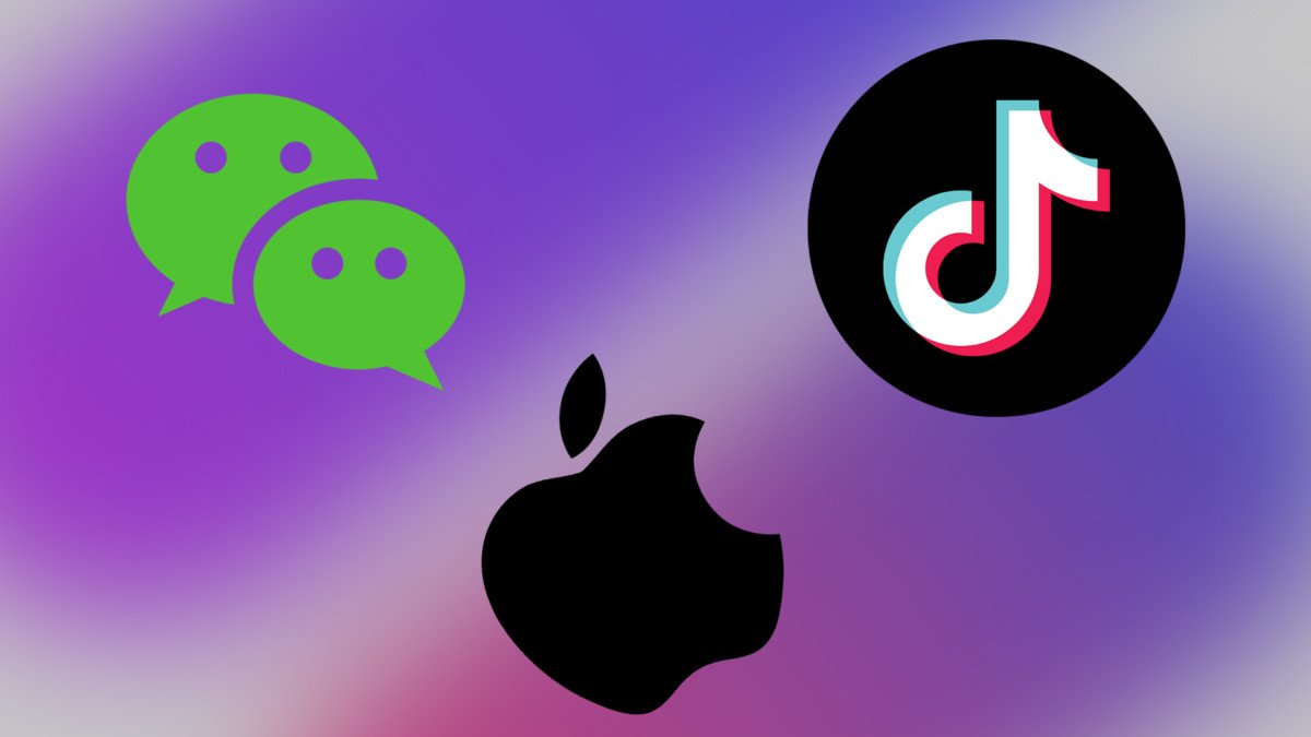 تأثير حظر WeChat و TikTok على ابل