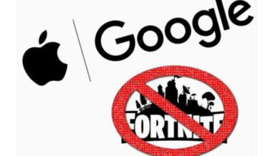 تعرف على الصراع الدائر بين ابل وجوجل وشركة Epic Games المطورة للعبة فورت نايت Fortnite