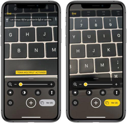 أداة التكبير في الايفون في iOS 14