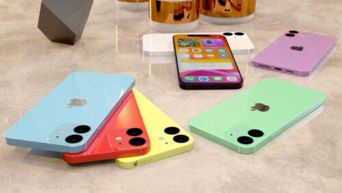بالصور - هاتف ايفون 12 الأصغر يظهر بكافة الألوان المتوقعة!