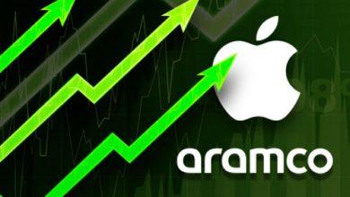 ابل تصبح أكبر شركة في العالم من ناحية القيمة السوقية متجاوزة أرامكو!
