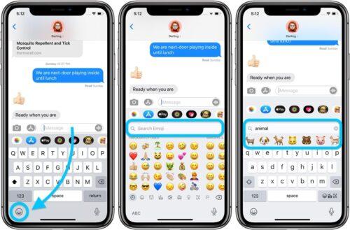 """تحديث iOS 14 - كيفية البحث عن الوجوه التعبيرية """"الإيموجي"""" بسهولة عبر لوحة المفاتيح!"""