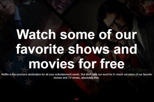 أفلام ومسلسلات نيتفلكس مجانًا