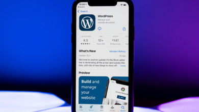 تطبيق WordPress