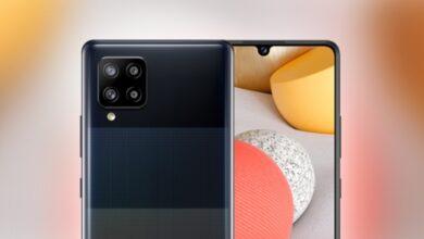 سامسونج تعلن عن هاتف جالكسي A42 5G – أرخص هاتف 5G حتى الآن!