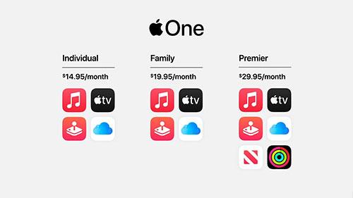 Apple One .. خدمات ابل كلها باشتراك واحد
