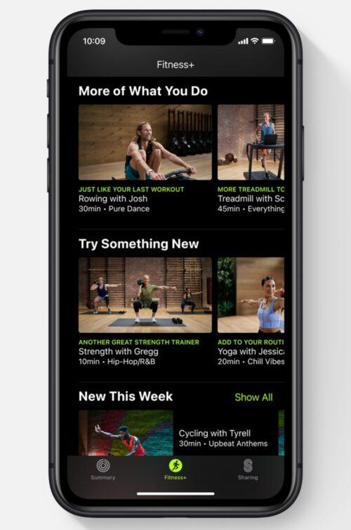 كل ما تود معرفته عن خدمة ابل Apple Fitness Plus للياقة البدنية!