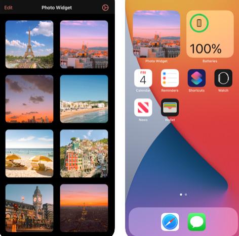 تطبيق Photo Widget - ويدجت على هيئة صور