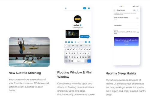 إليك أهم الخصائص الجديدة في واجهة Realme UI 2.0 المبنية على أندرويد 11