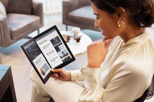 لينوفو تطلق أول جهاز كمبيوتر قابل للطي في العالم – سعر ومميزات ThinkPad X1 Fold