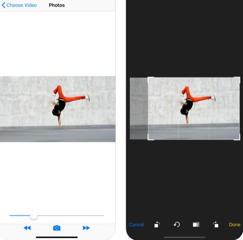 تطبيق Video to Pic لالتقاط صور من داخل الفيديو