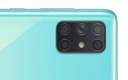 هاتف جالكسي A72 سيكون أول هاتف بخمس كاميرات خلفية من سامسونج