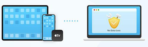 كيفية إصلاح مشاكل الايفون والايباد بعد التحديث إلى iOS 14 و iPadOS 14 بدون فقدان البيانات ؟