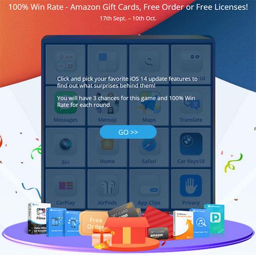 شركة iMyFone هدايا مجانية متنوعة