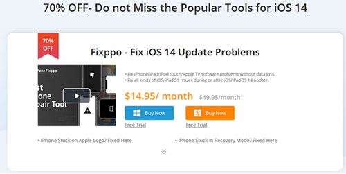 خصم 70% على برنامج iMyFone Fixppo