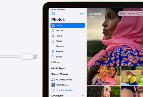 iPad Air 2020 USB C