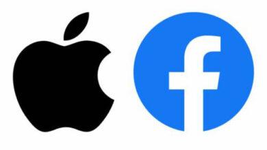 صورة فيسبوك تضغط على ابل لجعل ماسنجر تطبيق الرسائل الافتراضي على الايفون