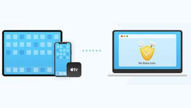 صورة كيفية إصلاح مشاكل الايفون والايباد بعد التحديث إلى iOS 14 و iPadOS 14 بدون فقدان البيانات ؟