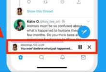 صورة تويتر يبدأ إطلاق ميزة التغريدات الصوتية لأجهزة الايفون والايباد!