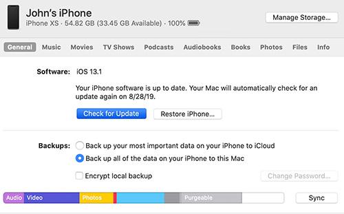 كيفية التحديث إلى iOS 14 و iPadOS 14 عبر برنامج الآيتونز