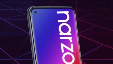 صورة تسريب مواصفات سلسلة هواتف Realme Narzo 20 بالكامل