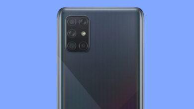 صورة هاتف جالكسي A72 سيكون أول هاتف بخمس كاميرات خلفية من سامسونج