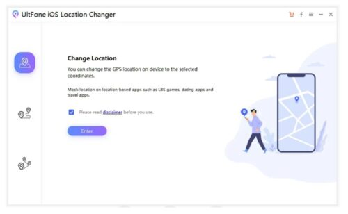 خصم ضخم على تطبيق UltFone iOS Location Changer لتغيير الموقع الجغرافي للآيفون باحترافية