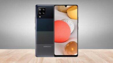 صورة رسميًا – سامسونج تكشف عن جالكسي A42 5G، أرخص هواتفها الداعمة لشبكات الجيل الخامس