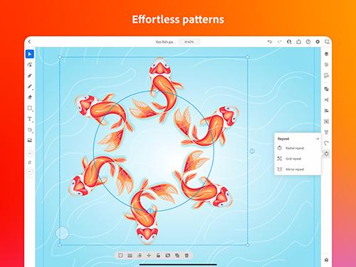 برنامج Adobe Illustrator الآن متوفر للايباد