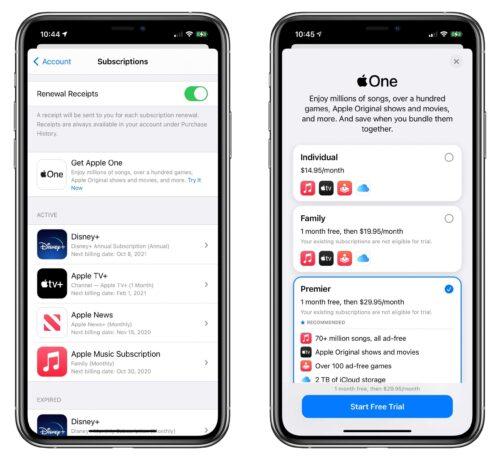 إطلاق خدمة ابل ون Apple One - كل خدمات ابل في اشتراك واحد!