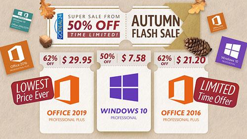 عروض حصرية – مايكروسوفت ويندوز 10 و برامج أوفيس 2019 و 2016 الأصلية بأرخص الأسعار الممكنة!