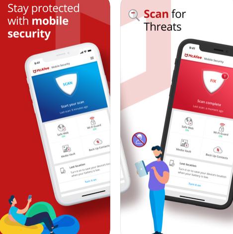 تطبيق McAfee Mobile Security لحماية جهازك وملفاتك