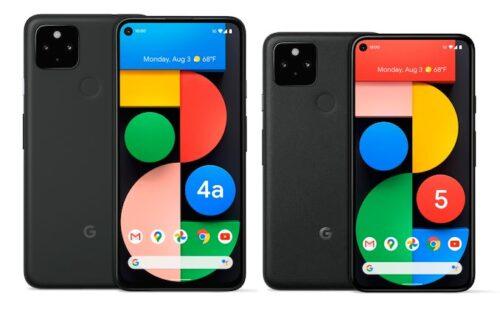 جوجل تعلن رسمياً عن هواتف Pixel 5 و Pixel 4a مع دعم شبكات الجيل الخامس