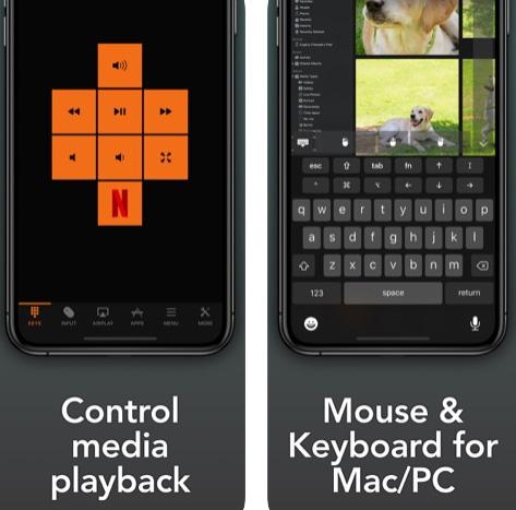 تطبيق Remote, Keyboard & Mouse حوّل الايفون والايباد إلى فأرة أو لوحة مفاتيح للحاسوب