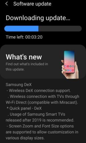 سامسونج تبدأ في إرسال تحديث ضخم لهواتف جالكسي S9 ونوت 9!