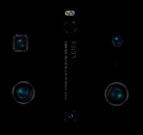 هاتف ميت 40 برو قد يأتي مع ستّ كاميرا خلفية ويقدم أفضل تجربة تصوير فيديو على الإطلاق