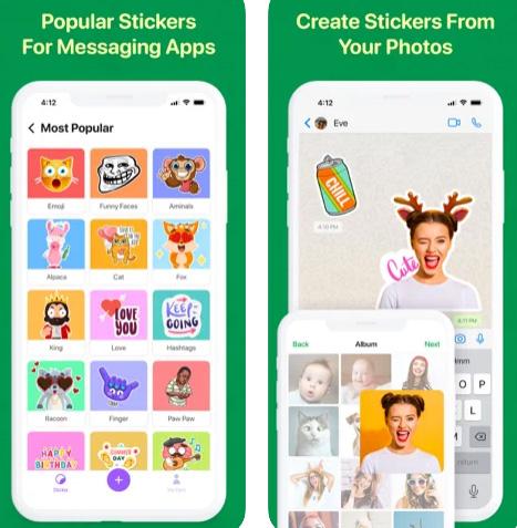 تطبيق Sticker Maker لإنشاء الملصقات للواتس اب