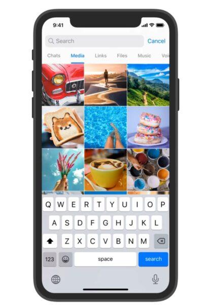 تحديث تليجرام الجديد