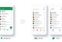 صورة جوجل ستغلق تطبيق Hangouts وتتيح تطبيق Google Chat مجانًا للجميع
