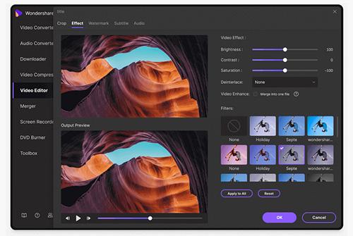 Wondershare UniConverter تحويل الفيديو و الصوت