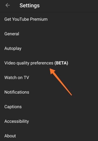أخيراً - يوتيوب سوف يتيح التحكم في جودة الفيديو الافتراضية عبر الوايفاي وبيانات الهاتف!