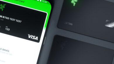 صورة ريزر تطلق بطاقة Razer Card مسبقة الدفع مع شعارها الأخضر المتوهّج و 1% كاش باك
