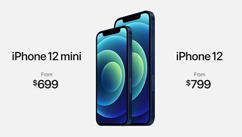 سعر ايفون 12 و ايفون 12 ميني