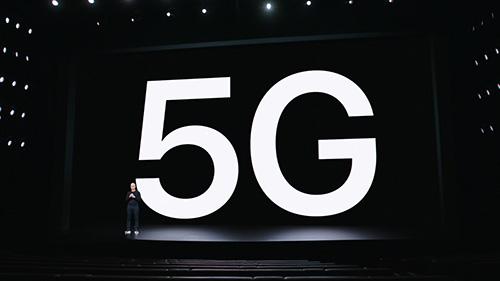 هواتف ايفون 12 وشبكات الجيل الخامس